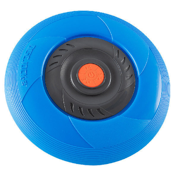 Disc Jock-e Bluetooth connected flying disc - Blue version