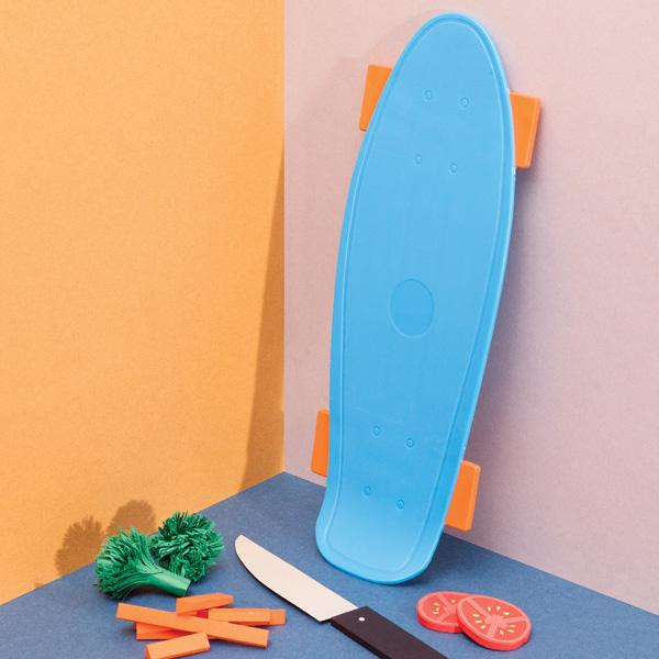 Retro Skate Cutting Board