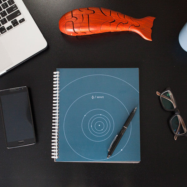 Buy Rocketbook Wave Reusable Notebook and other gifts online - The Fowndry