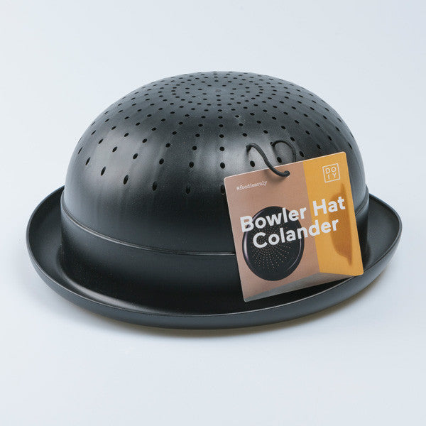 Buy Bowler Hat Colander and other gifts online - The Fowndry