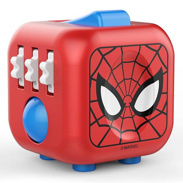The Original MARVEL Fidget Cube - Spider-Man version