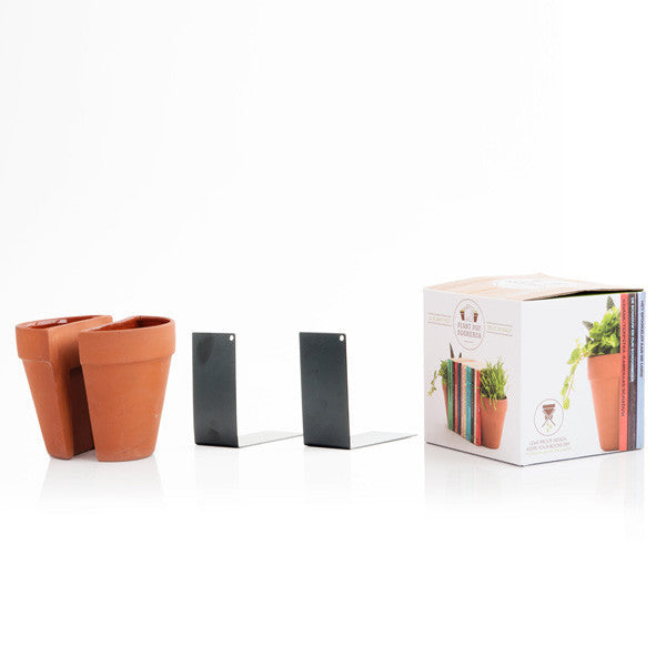 Buy Plant Pot Bookends and other gifts online - The Fowndry