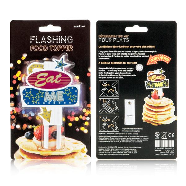Buy Flashing Food Topper and other gifts online - The Fowndry