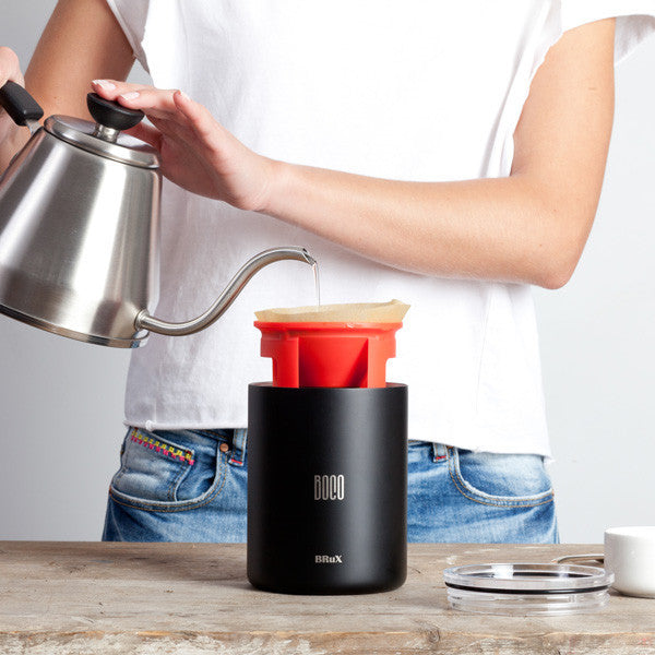 Buy BruX Pour Over Coffee System and other gifts online - The Fowndry