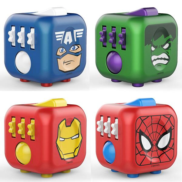 Buy The Original MARVEL Fidget Cube and other gifts online - The Fowndry