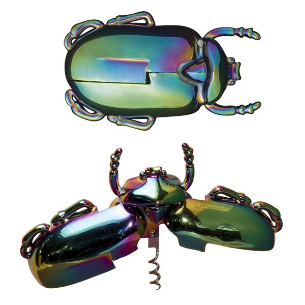 Buy Insectum Beetle Corkscrew and other gifts online - The Fowndry