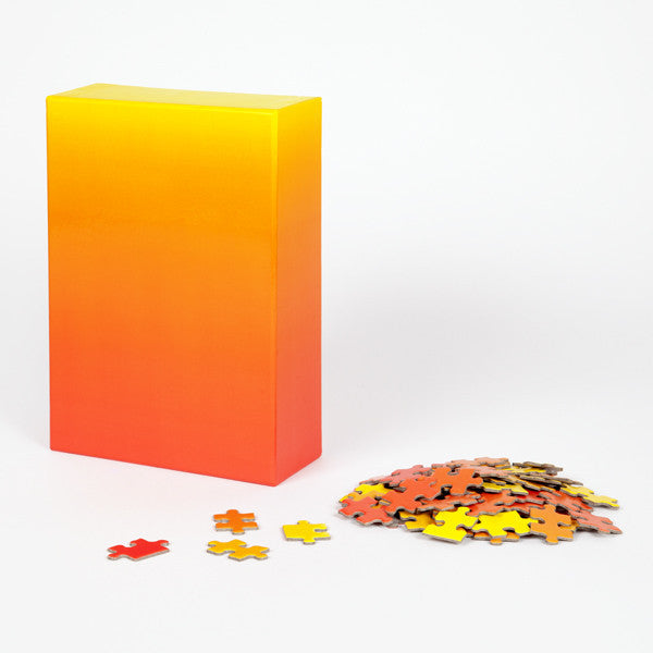 Gradient Puzzle from Areaware - Yellow / Red version