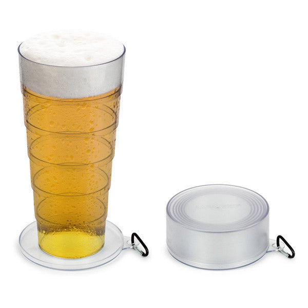 Buy Mega Pint Collapsible Beer Glass and other gifts online - The Fowndry