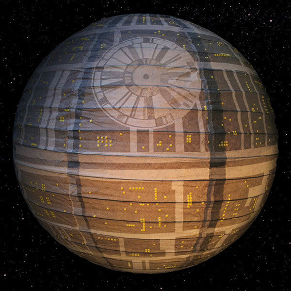 Buy Star Wars Death Star Paper Light Shade and other gifts online - The Fowndry