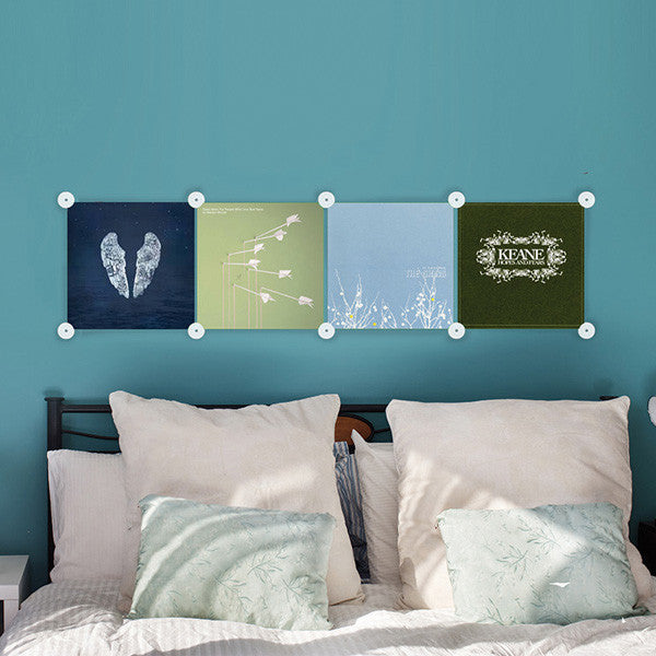 Buy Q Vinyl Record Wall Mounts and other gifts online - The Fowndry