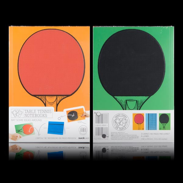 Buy Table Tennis Notebooks and other gifts online - The Fowndry