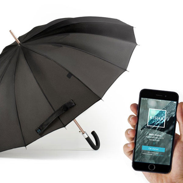 Buy Kisha Smart Umbrella and other gifts online - The Fowndry