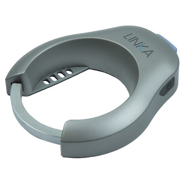 Silver LINKA Smart Bike Lock