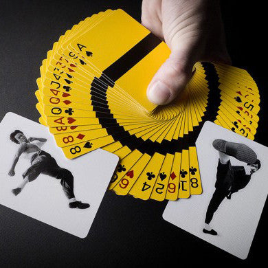 Bruce Lee Playing Cards - buy at The Fowndry