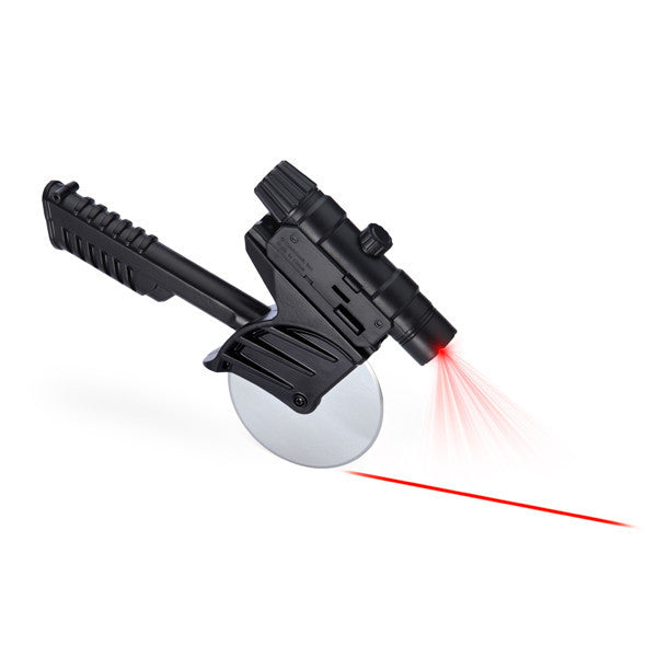 Buy Tactical Laser-Guided Pizza Cutter and other gifts online - The Fowndry