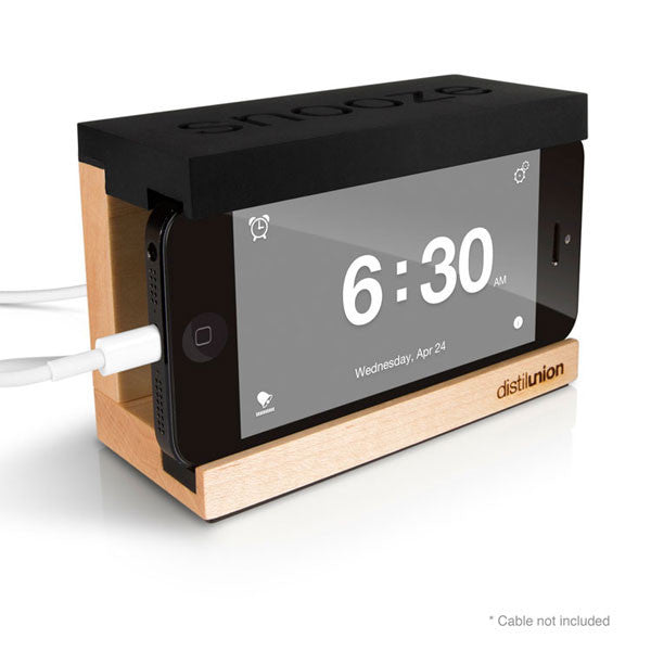 Buy Snooze iPhone Alarm Dock and other gifts online - The Fowndry