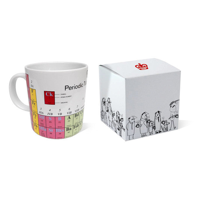 Periodic table of swearing mug buy cool unique exclusive and periodic table of swearing mug urtaz Images