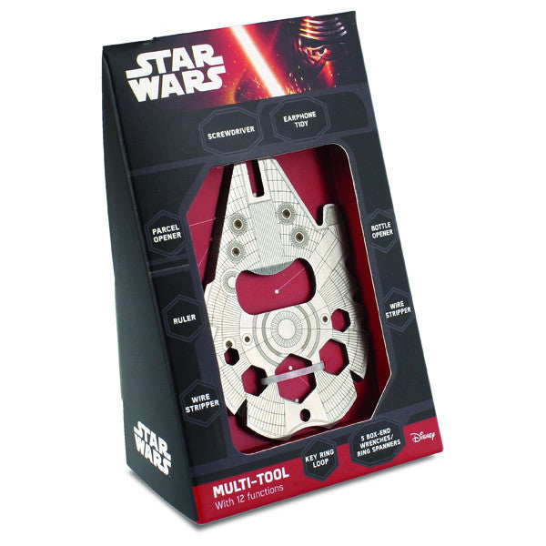Buy Star Wars Millennium Falcon Multitool and other gifts online - The Fowndry