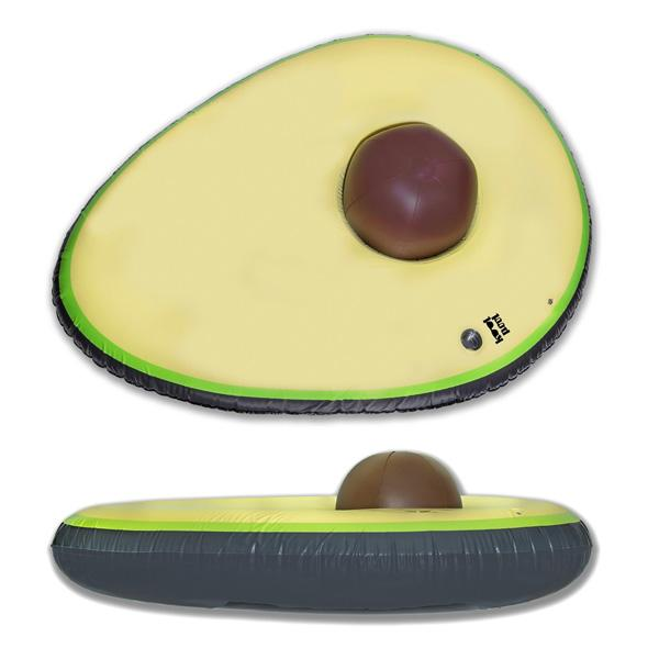 Buy 'Sit In The Pit' Giant Premium Inflatable Avocado Pool Float and other gifts online - The Fowndry