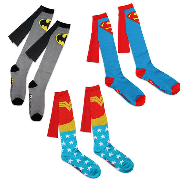 Superhero Caped Socks