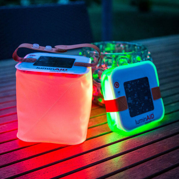 LuminAID Packlite Spectra solar light - buy at The Fowndry