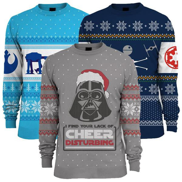 Buy Star Wars Christmas Jumpers and other gifts online - The Fowndry ... 785db3dcc