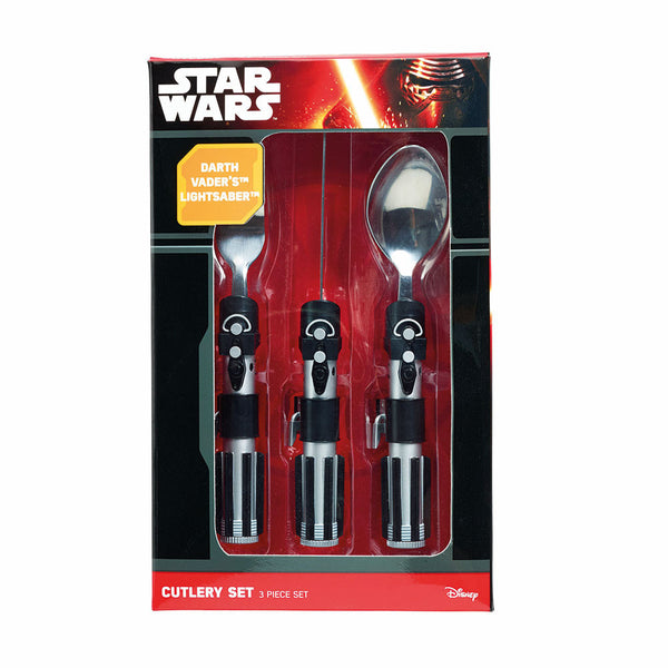 Buy Star Wars Lightsaber Cutlery Set and other gifts online - The Fowndry