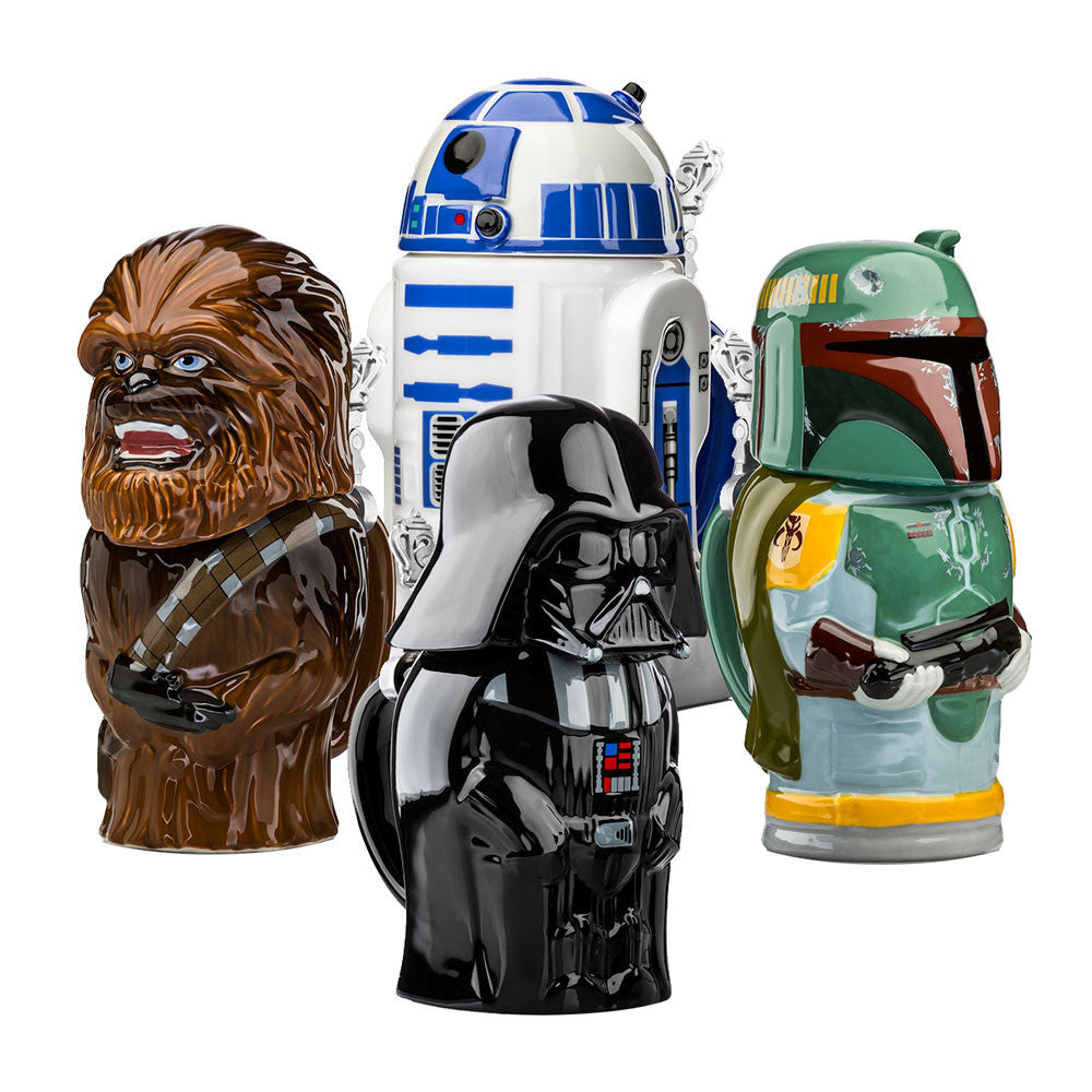 Star Wars Lidded Collector's Steins