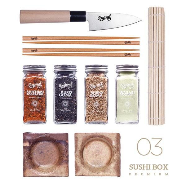 Buy Gourmet Sushi Box and other gifts online - The Fowndry