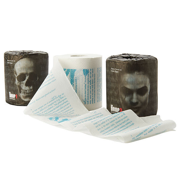 Buy The Drop Horror Toilet Paper and other gifts online - The Fowndry