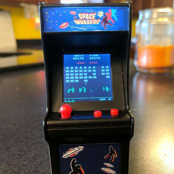 Buy Tiny Arcade Space Invaders and other gifts online - The Fowndry