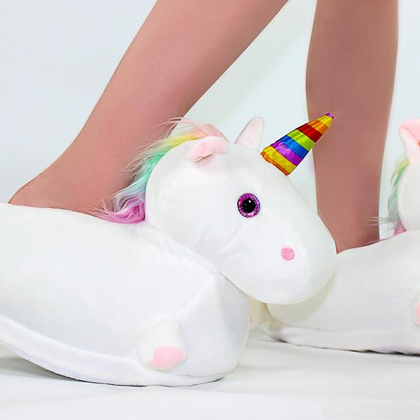 Magical Unicorn Light Up LED Slippers
