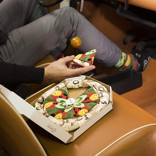 Buy Pizza Socks and other gifts online - The Fowndry