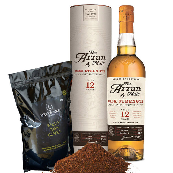 Buy Scottish Whisky Cask Coffee and other gifts online - The Fowndry