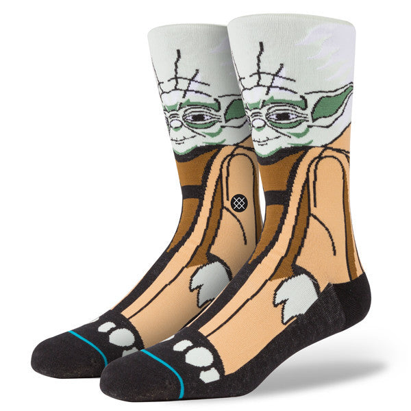 Stance X Star Wars Socks - Yoda version