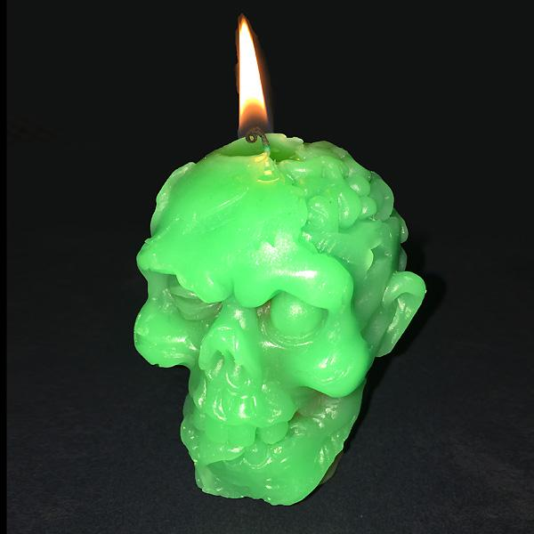 Buy Melting Zombie Head Candle and other gifts online - The Fowndry