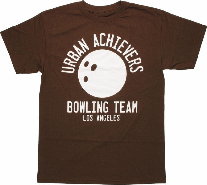 The Big Lebowski Urban Achievers Bowling Team T-Shirt