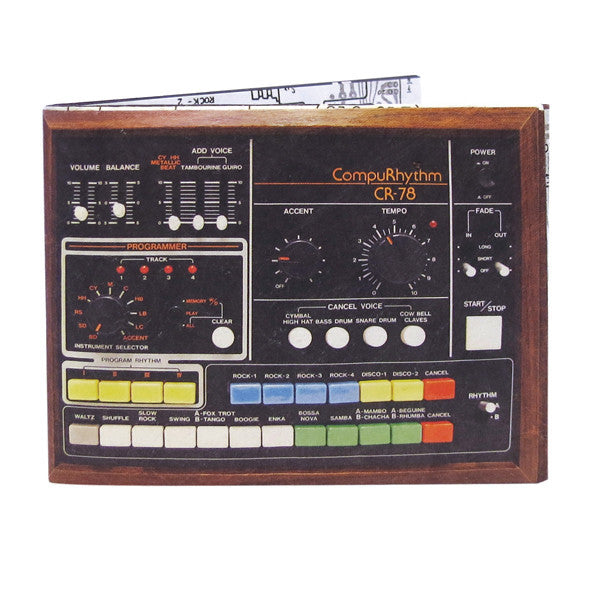Buy Sound Effect Drum Machine Wallet and other gifts online - The Fowndry