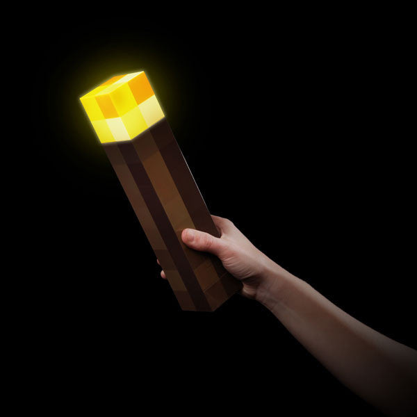 Buy Minecraft Light Up Torch and other gifts online - The Fowndry