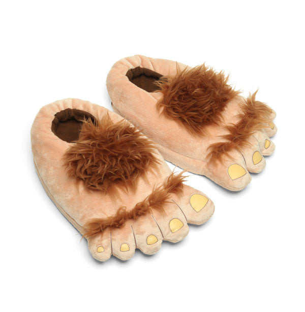 Furry Adventure Slippers - buy at The Fowndry