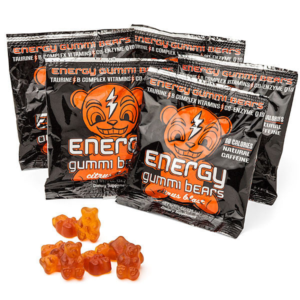 Buy Energy Gummi Bears and other gifts online - The Fowndry