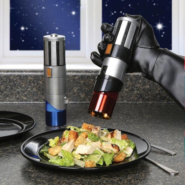 Star Wars Lightsaber Salt and Pepper Mills - Buy at The Fowndry