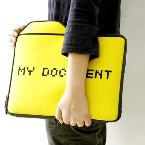 Buy MyDocument Laptop Case and other gifts online - The Fowndry