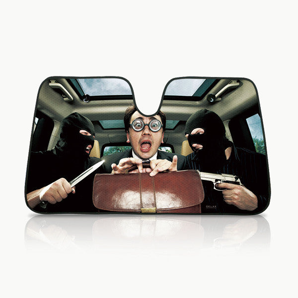WTF!? Car Sun Shades - Japanese tourist version