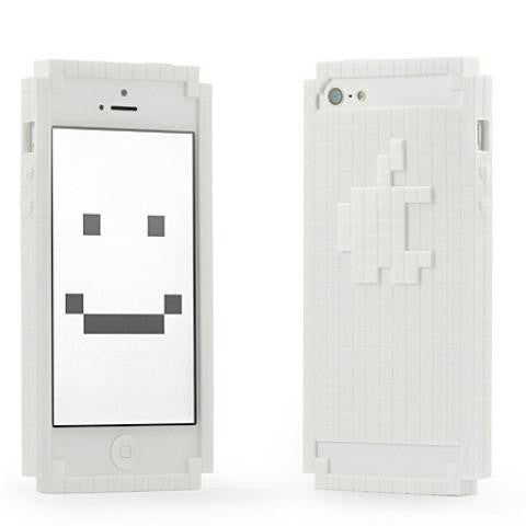Geek 8-Bit iPhone 5 Case White from TheFowndry
