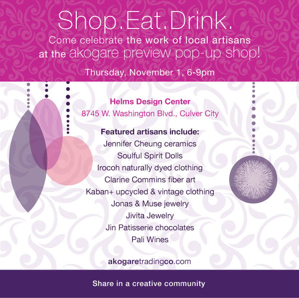 Holiday Pop-Up: a preview celebration