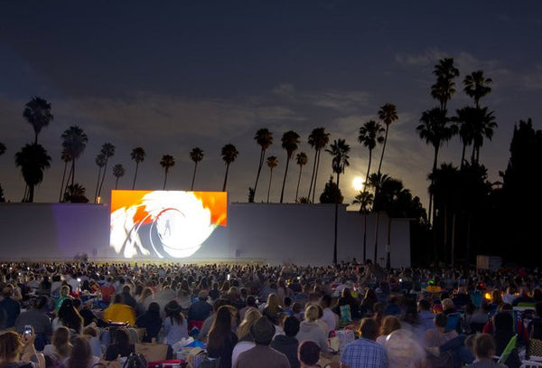 Outdoor Movies + Art Exhibits