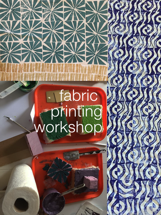 Block Printing on Natural Fibers | May 12