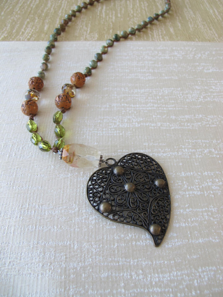 Compassionate Heart Necklace