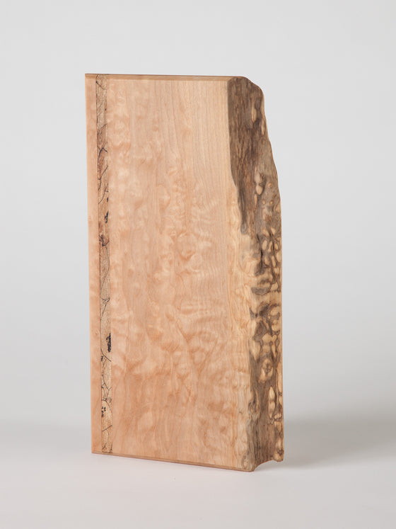 Maple Serving Board: Figured and Spalted